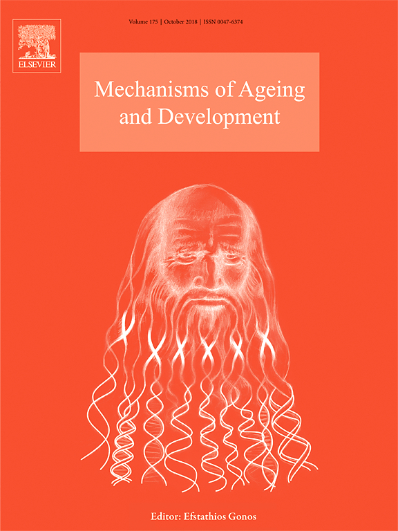 Optimal micronutrients delay mitochondrial decay and age-associated diseases Mech Ageing DEV