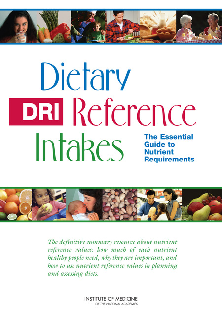 Dietary Reference Intakes The Essential Guide to Nutrient Requirements Micronutrients Research Micronutrients Research